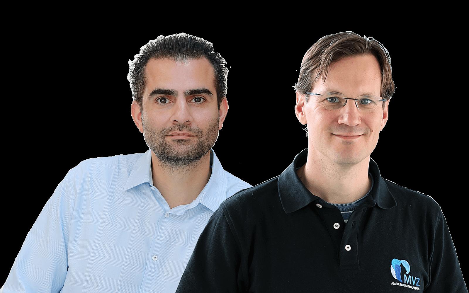 Dr. med. Payam Dibaj und Dr.med. Niklas Garde